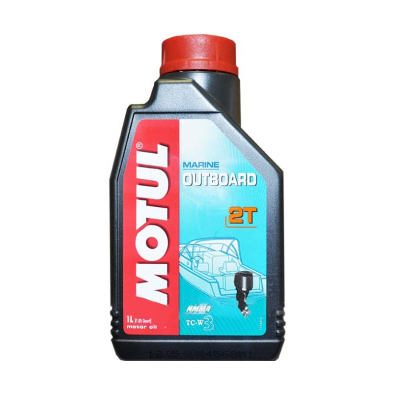Моторное масло MOTUL Outboard 2T 1л.
