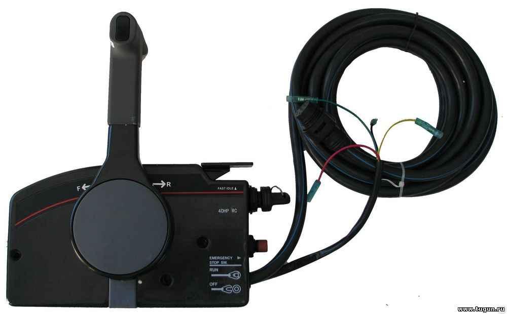 дистанционный привод лодочного мотора