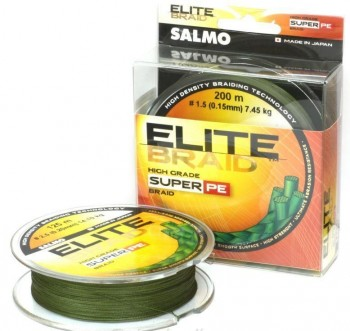 Шнур плетеный SALMO ELITE BRAID Green 91